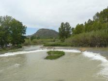 Azud en el río Cabriel