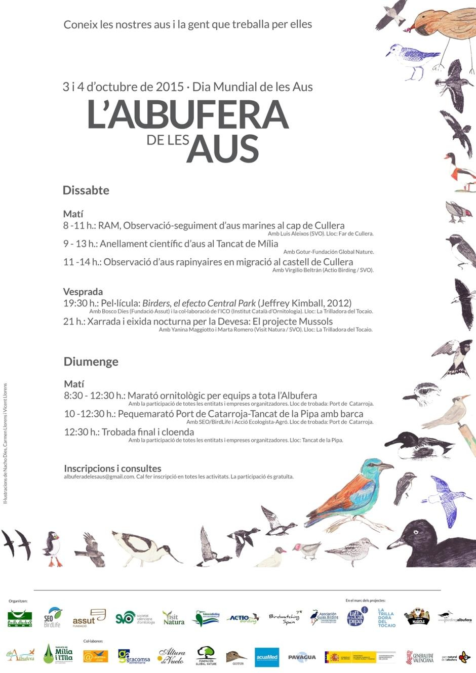 Programa L'Albufera de les Aus 2015