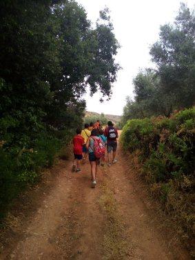 Rafa Torralba (ACTIO Birding) excursión con niños en Alcaraz2