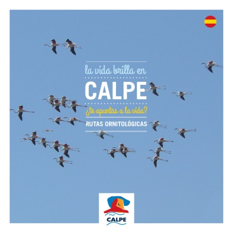 Folleto Turismo Ornitológico CALPE-esp